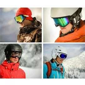 HS Kacamata goggles ski tactical pelindung mata