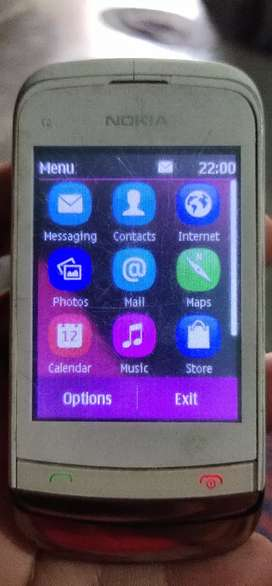 Old model touch screen with keypad