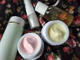 Cream whitening glow