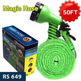 Magic Hose Water Pipe for Garden & Car wash - 50ft / 100ft