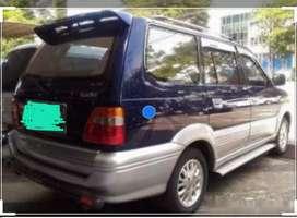 Rental mobil harus dngan driver 8 jam/day atau antar jemput Rp.5000/km