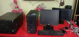 "Hp branded PC 4th gen (core i3/i5 compatable) with 19"" monitor all set"