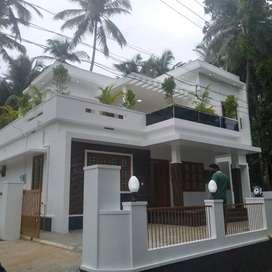 thrissur mundoor 6,200 cent 3 bhk stylish new villa