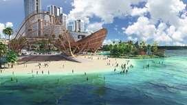 OPUS bay , villa and apartement mewah , seperti resort