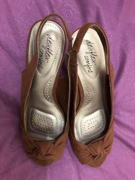 Sepatu heels merk dexflex comfort (nego)
