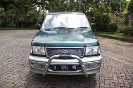 Toyota Kijang Krista Tahun 2000 Hijau Metalic 2400cc