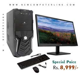 Brand New Assembled Full Set PC @ Special Price