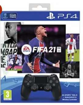 2 × [Fifa 21 and DUALSHOCK 4 (PS4 CONTROLLER)]