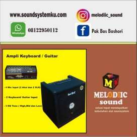 Ampli Keyboard dan Gitar