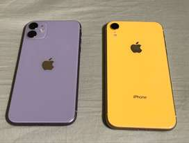 Refurbished Apple I phone 11 phone is available with bill, box and all
