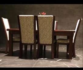 Meja besar 6 kursi