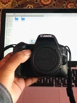 Canon 200d with lens and warranty