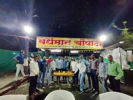 Food stalls on rent