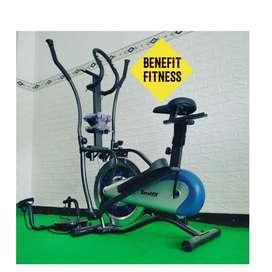 Sepeda statis orbitrack 6in1 Totalfit || home gym