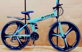 New Foldable macwheel cycle