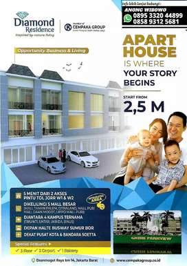 Apart House Exclusive Full Furnished