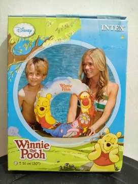 Pelampung renang winnie the pooh merk intex