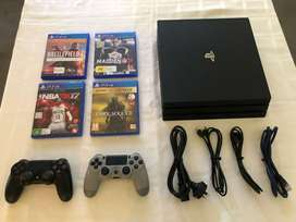 Brand new ps4pro with compute accessories for sale