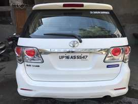 fortuner 3.0 first owner in excellent condition.