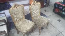 Pair of fancy Bedroom Chairs