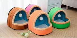 Cat houses and dog beds