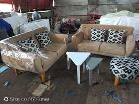 Sri furniture sofa vintage dan meja