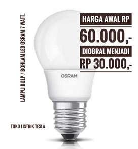 Lampu LED OSRAM, garansi 3 tahun**.