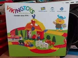 Lego viking toys lego city big farm house set