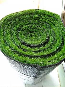 Jual rumput sintetis dengan motif ketebalan 3cm
