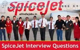 SpiceJet airlines hiring urgent