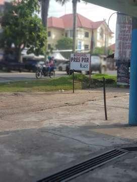 Disewakan lokasi buat jualan di pinggir jalan