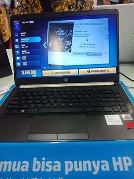 Laptop HP IA308PA#AR6 Bisa di cicil cukup KTP SIM