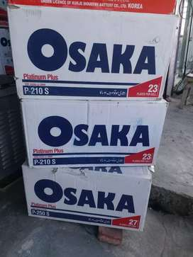 Osaka P-210 New battery Free home delivery nd free battery fitting.