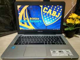Asus A455L Grey Slim Core i3-4030 Haswell/HDD 500GB/Baterai Awet
