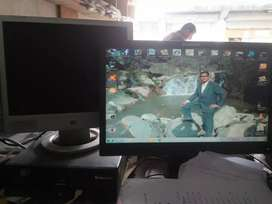 Lenov desktop pc with Lcd 15""