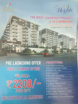 @@Most luxurious project PRE launching offer PER SFT.. Rs. 2200/-