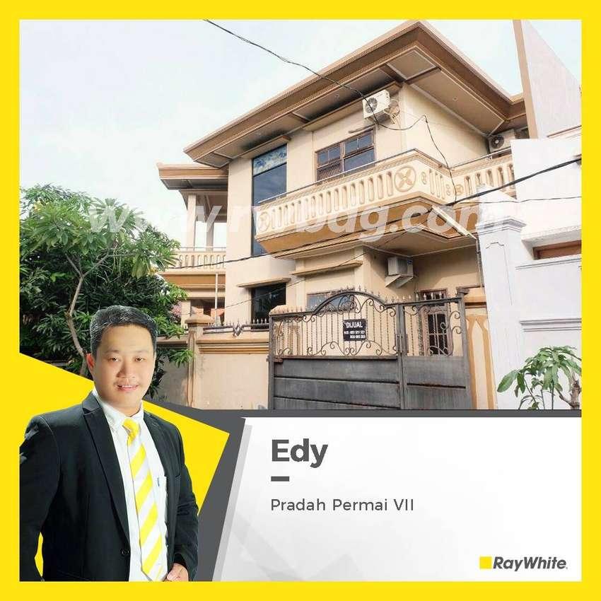 Rumah Dijual Mewah 2 Lantai, Pradah Permai, Dekat Tol Satelit 0