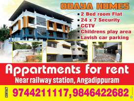 Brand new executive type flat near Angadipuram Railway Station