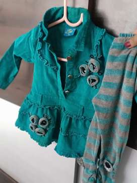 Party wear clothes for girls age 1 year
