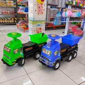 Truk Dorong Dump Mainan Anak Mobil Dorong