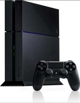 PS4 with accessories and Ride & Call of Duty