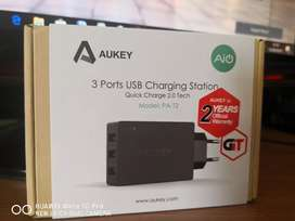 Jual AUKEY Charger 3 Port 42W