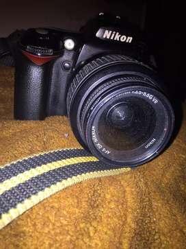 Nikon d90 with 1855 lens