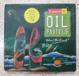 Camlin Oil Pastels - 50 shades