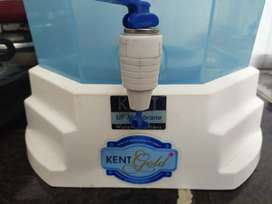 Kent gold water filter with new sediment filter
