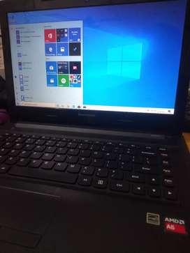 Laptop amd A6 Baguss