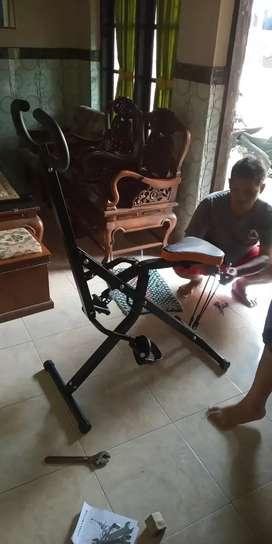 New Alat fitnes power squad rider desain terbaru