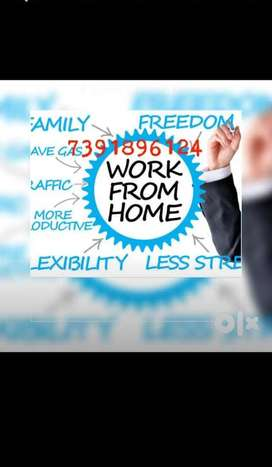 Life time work extra earning join part time job!