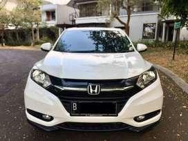 2017 Honda HRV 20rb Km Putih AT Matic Plat Genap