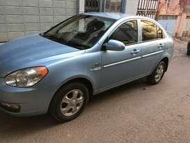 Hyundai Verna XXi ABS, 2008, Petrol